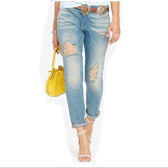 67fd2738e Polo Ralph Lauren Astor Slim Boyfriend Jeans 26 32